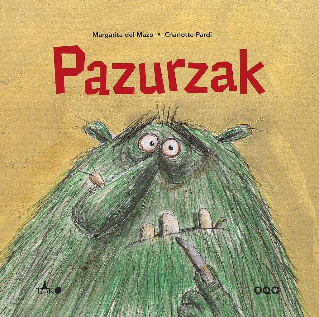 Pazurzak, okładka książki
