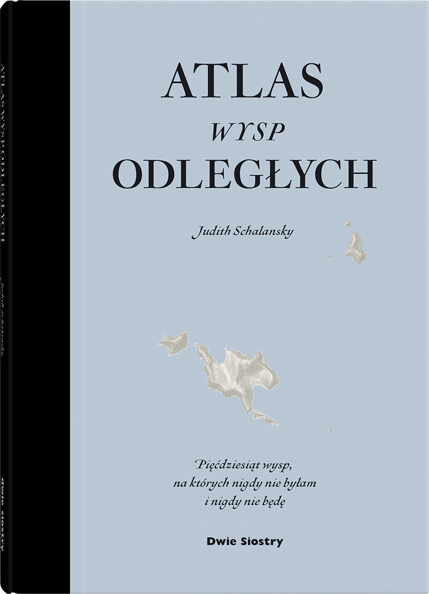 Atlas wysp odległych, okładka książki